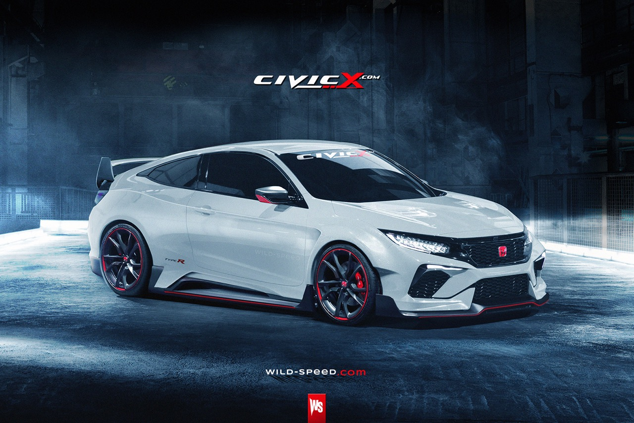 What If the 2017 Honda Civic in Type-R Guise Looked Like ...