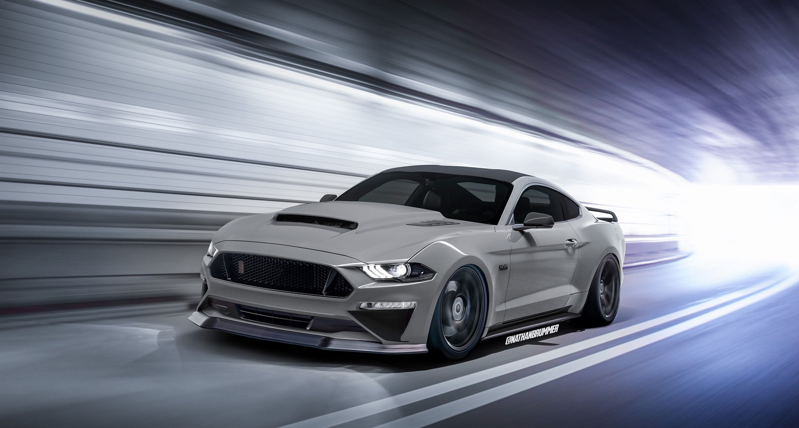 What If The 2019 Shelby Gt500 Mustang Looked Like This Autoevolution