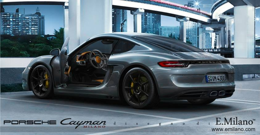 what if the porsche cayman had 918 spyder taillights autoevolution. Black Bedroom Furniture Sets. Home Design Ideas