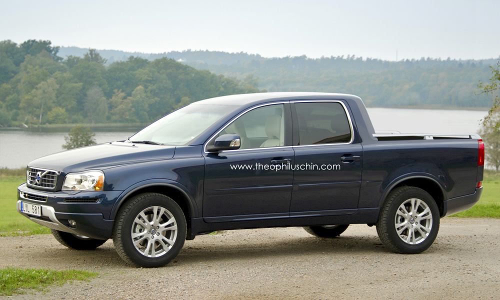 Liberty Auto Sales >> What If Volvo Made Pickup Trucks? - autoevolution
