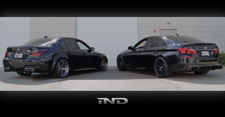 What's Better than Fireworks on the 4th of July? 2 BMW M5s Revving [Video]