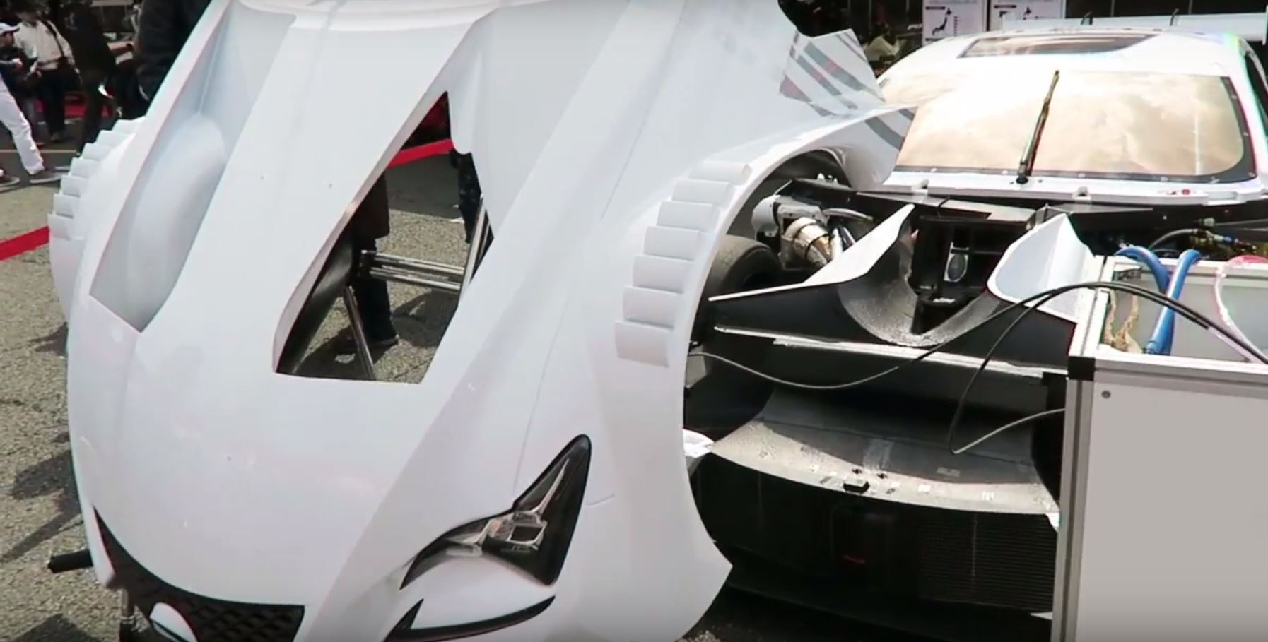 Whats Under The Hood Of A Lexus Rc F Super Gt Race Car Autoevolution