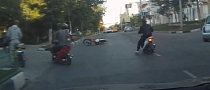 Wheelie Fails, Scooter Riders Almost Get It [Video]