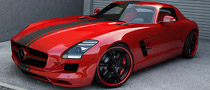 Wheelsandmore Plays with the Mercedes SLS AMG