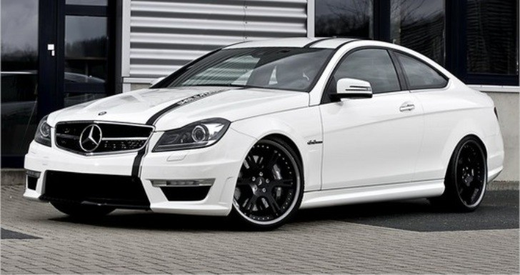 Wheelsandmore Customizes Mercedes C 63 AMG Coupe