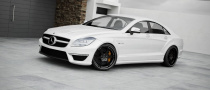 Wheelsandmore Gives 2011 Mercedes CLS63 AMG New Wheels... and More