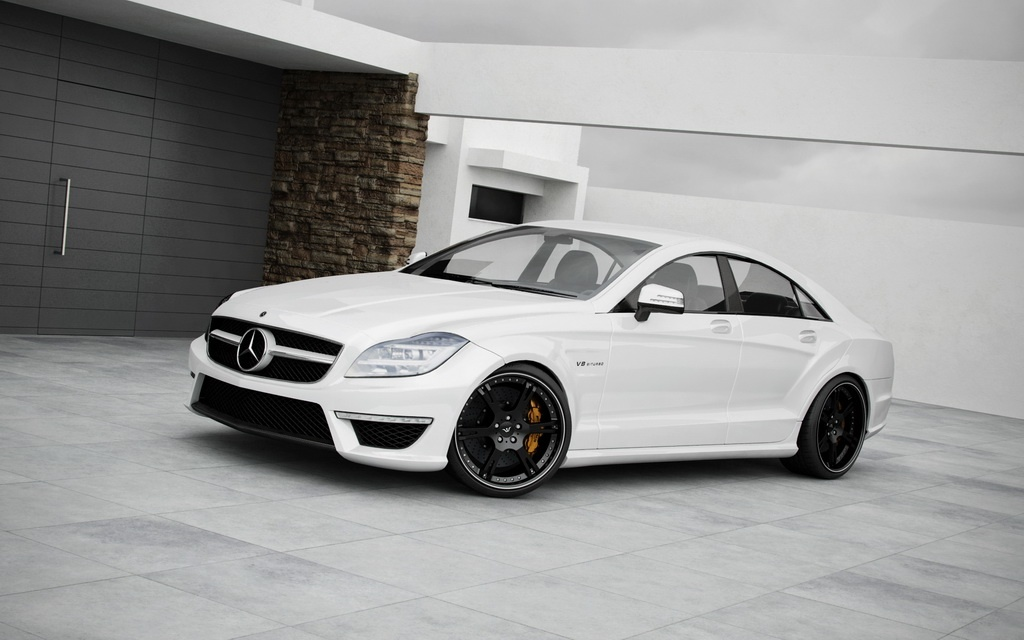 Wheels And More >> Wheelsandmore Gives 2011 Mercedes Cls63 Amg New Wheels