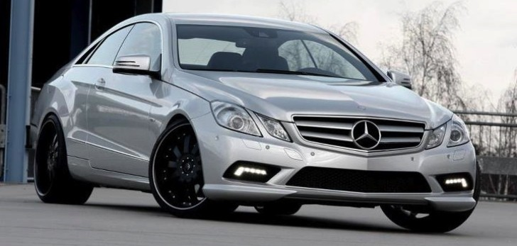 Wheelsandmore Mercedes E-Class Coupe [Photo Gallery]