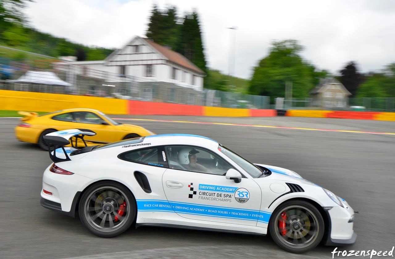 When A Rental Porsche 911 GT3 RS PDK Overtakes 996 On Spas La