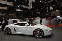 The new Hispano Suiza concept at the 2010 Geneva Auto Show.