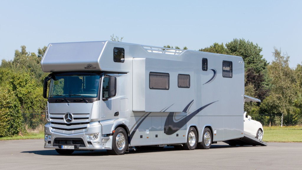 When it comes to camper vans and rvs mercedes benz proves for Mercedes benz luxury rv