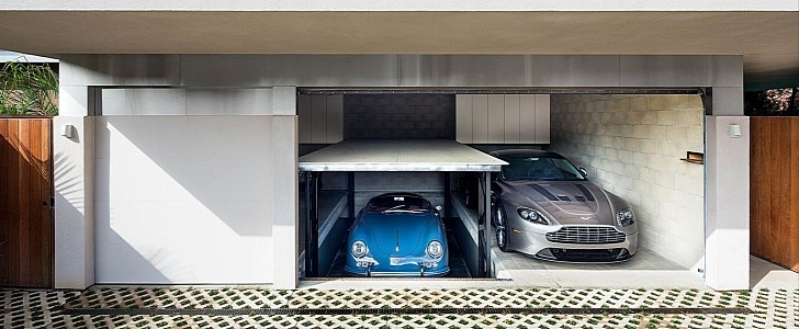 When You Truly Love Your Porsche Collection, You Build a House For It