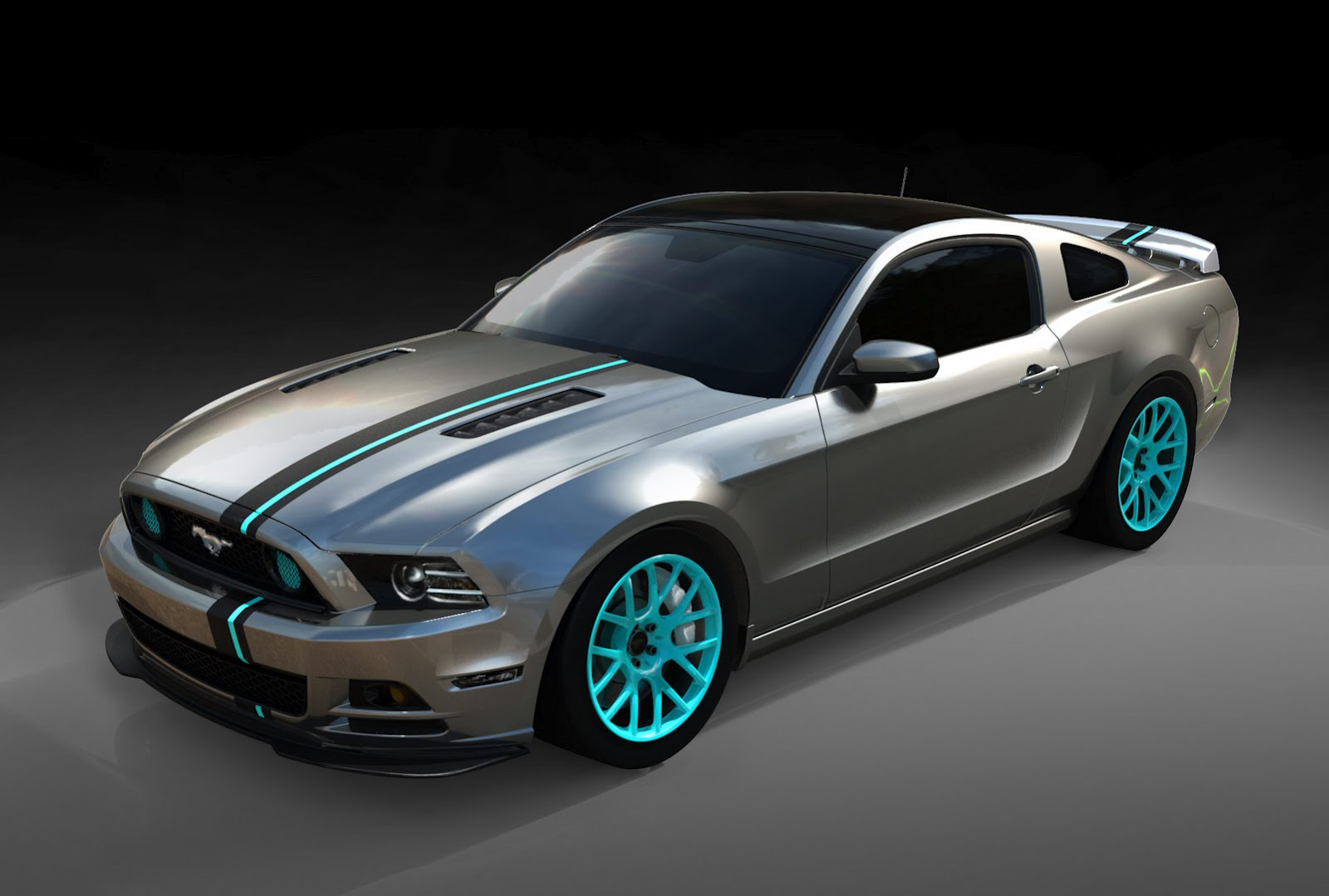 which is your favorite sema mustang built by women autoevolution. Black Bedroom Furniture Sets. Home Design Ideas