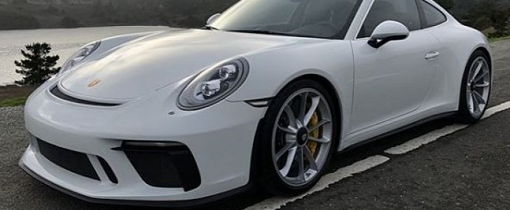 White 2018 Porsche 911 Gt3 Touring Package Is An