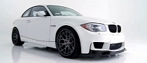White BMW 1M Coupe GTS-V by Vorsteiner [Video] [Photo Gallery]