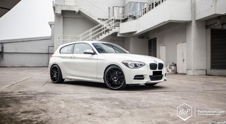 White BMW F21 M135i Wears BBS Rims - autoevolution