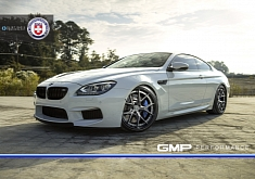 White BMW M6 Shines on HRE Wheels [Photo Gallery]