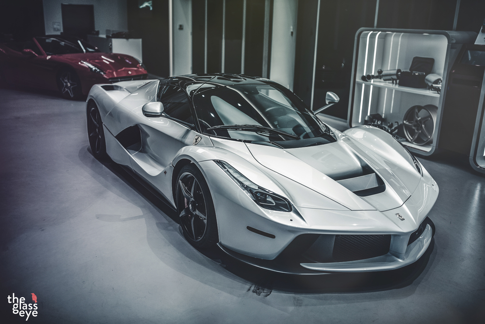 ferrari car white. white ferrari laferrari is supreme eye candy car