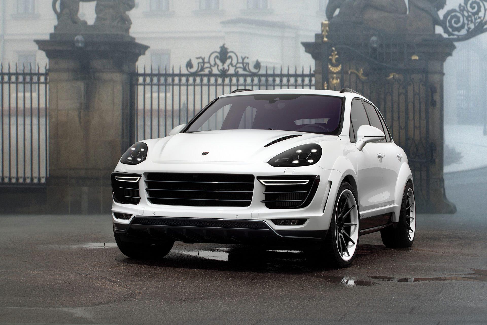 White Porsche Cayenne Vantage By Topcar