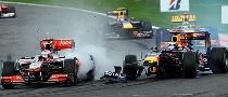 Whitmarsh Goes after Vettel after Spa Race