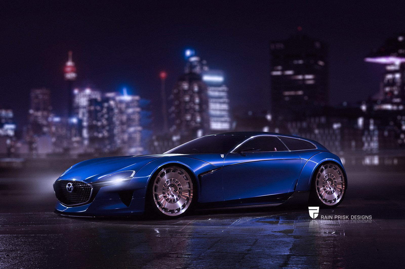 why a mazda rx vision fat shooting brake makes more sense