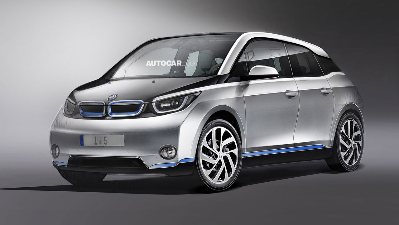 why all the bmw i5 renderings are wrong autoevolution. Black Bedroom Furniture Sets. Home Design Ideas