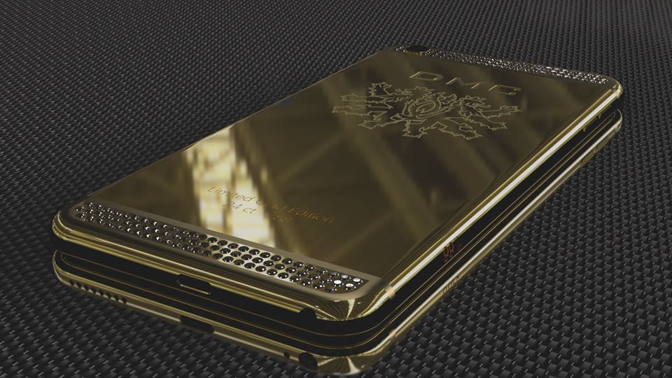 the best attitude ede06 ad6b9 Why Get a Wrap When You Can Buy DMC's 24 Karat Gold iPhone 6 ...