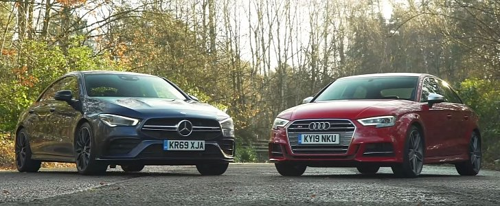 Why Is the Audi S3 Sedan Faster than the Mercedes-AMG CLA 35? - autoevolution