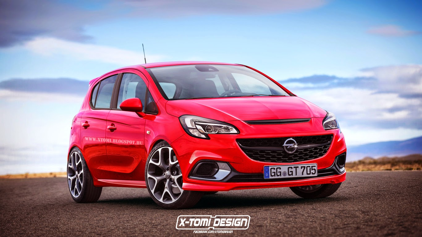 why the 2015 opel corsa opc makes more sense as a 5 door autoevolution. Black Bedroom Furniture Sets. Home Design Ideas