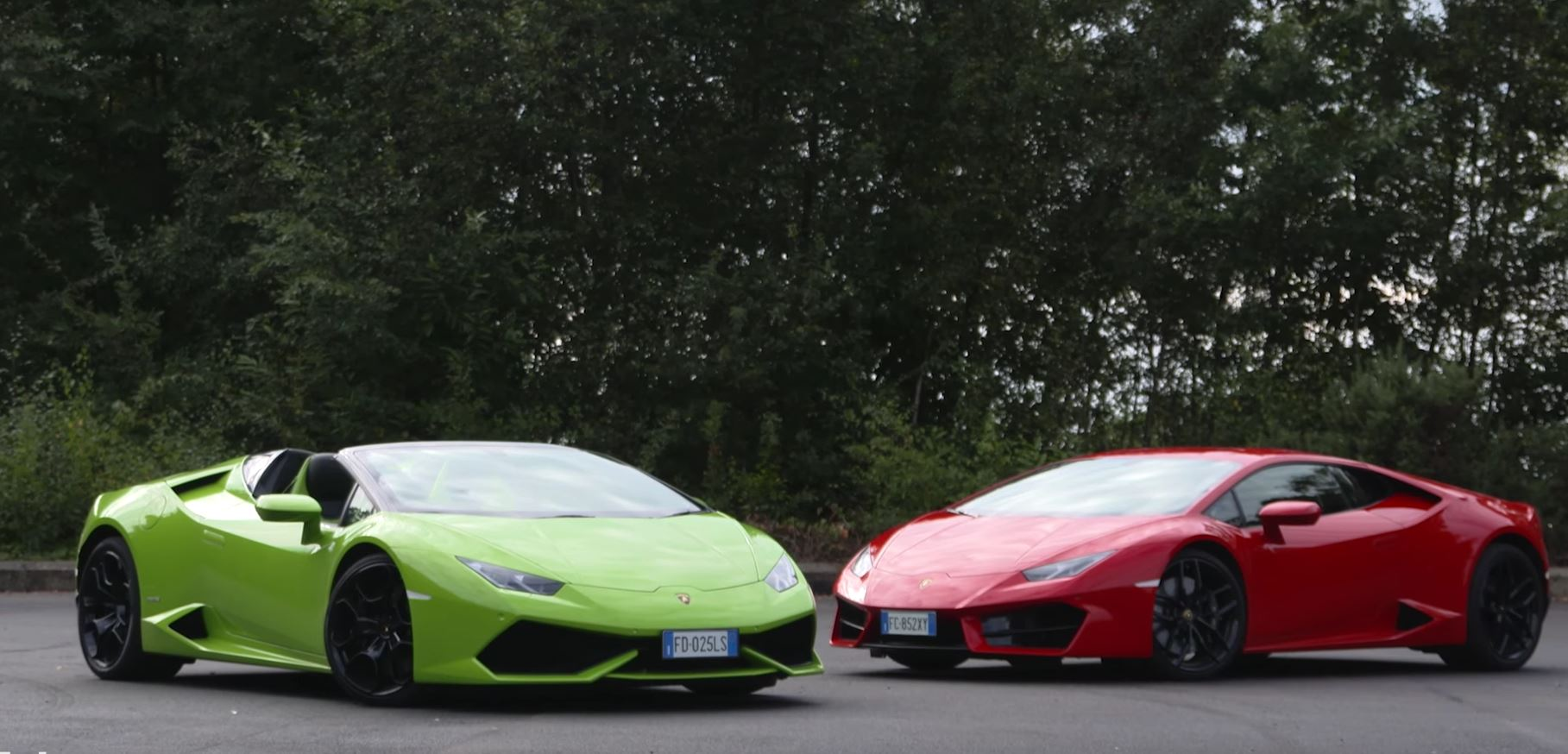 Why The Lamborghini Huracan LP610 4 Spyder And LP580 2 Coupe Are Different