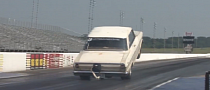 Wicked Chevrolet Nova Does 400-foot Wheel Stand [Video]