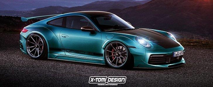 Widebody 2020 Porsche 911 Rendered As Tuner Car Looks