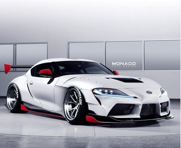 2020 Toyota Supra Gets Widebody Kit and Huge Wing in Tuner ...