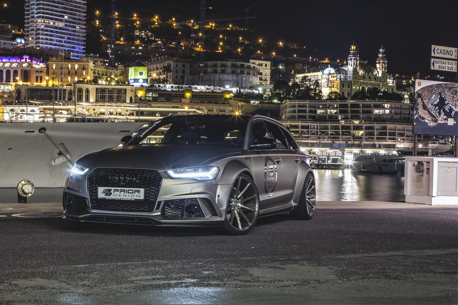 Widebody Audi RS6 by Prior Design Shows Muscles in Monte ...