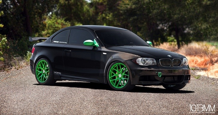Widebody BMW 135i: Little Green Moster
