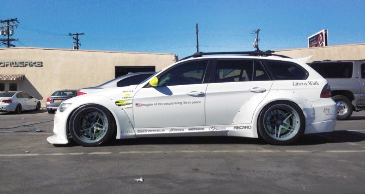 Widebody BMW 3 Series Touring Is Out of This World