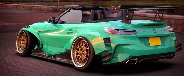 Widebody Bmw Z4 Rendered By Nfs Vehicle Director Looks