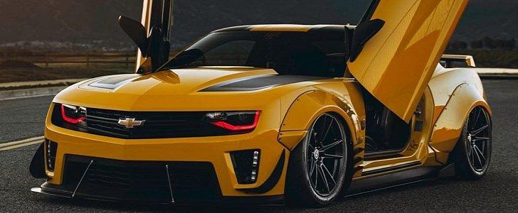Widebody Bumblebee Camaro Witwicky Jdm Special Autoevolution