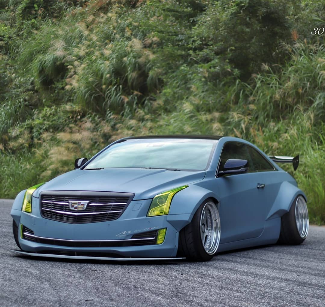 Widebody Cadillac ATS Coupe Looks Like A Celica, Is Pure