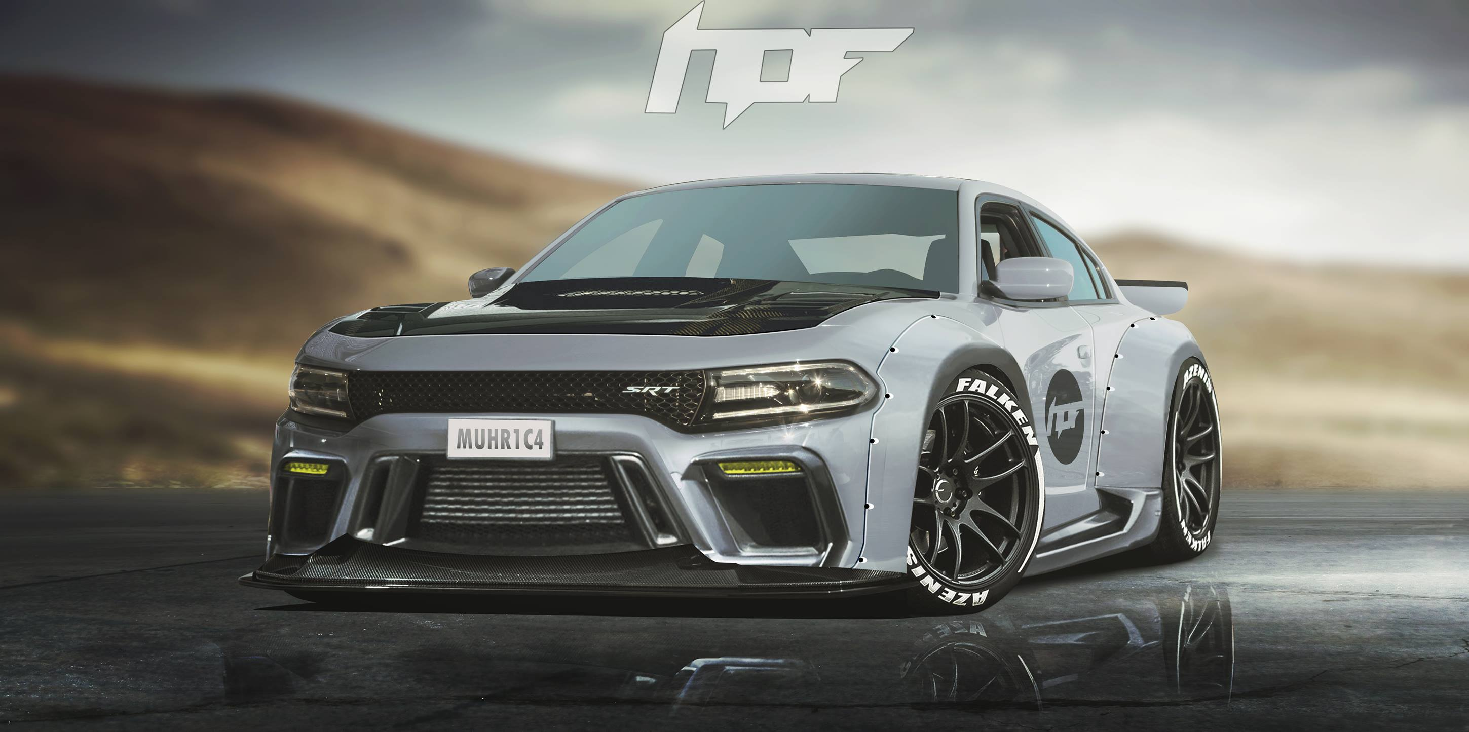 2 Door Charger Hellcat >> Widebody Dodge Charger Hellcat Rendered As the Coupe Dodge ...