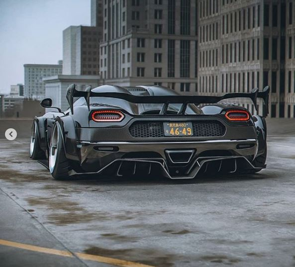 Widebody Koenigsegg Agera Rs Lowered On Rotiform Wheels