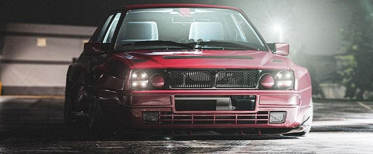 Widebody Lancia Delta Integrale