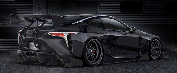 Widebody Lexus LC 500 Racecar Is What We Should See at ...
