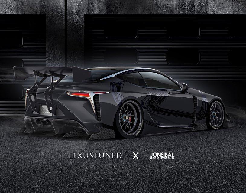 Widebody Lexus Lc 500 Racecar Is What We Should See At Sema