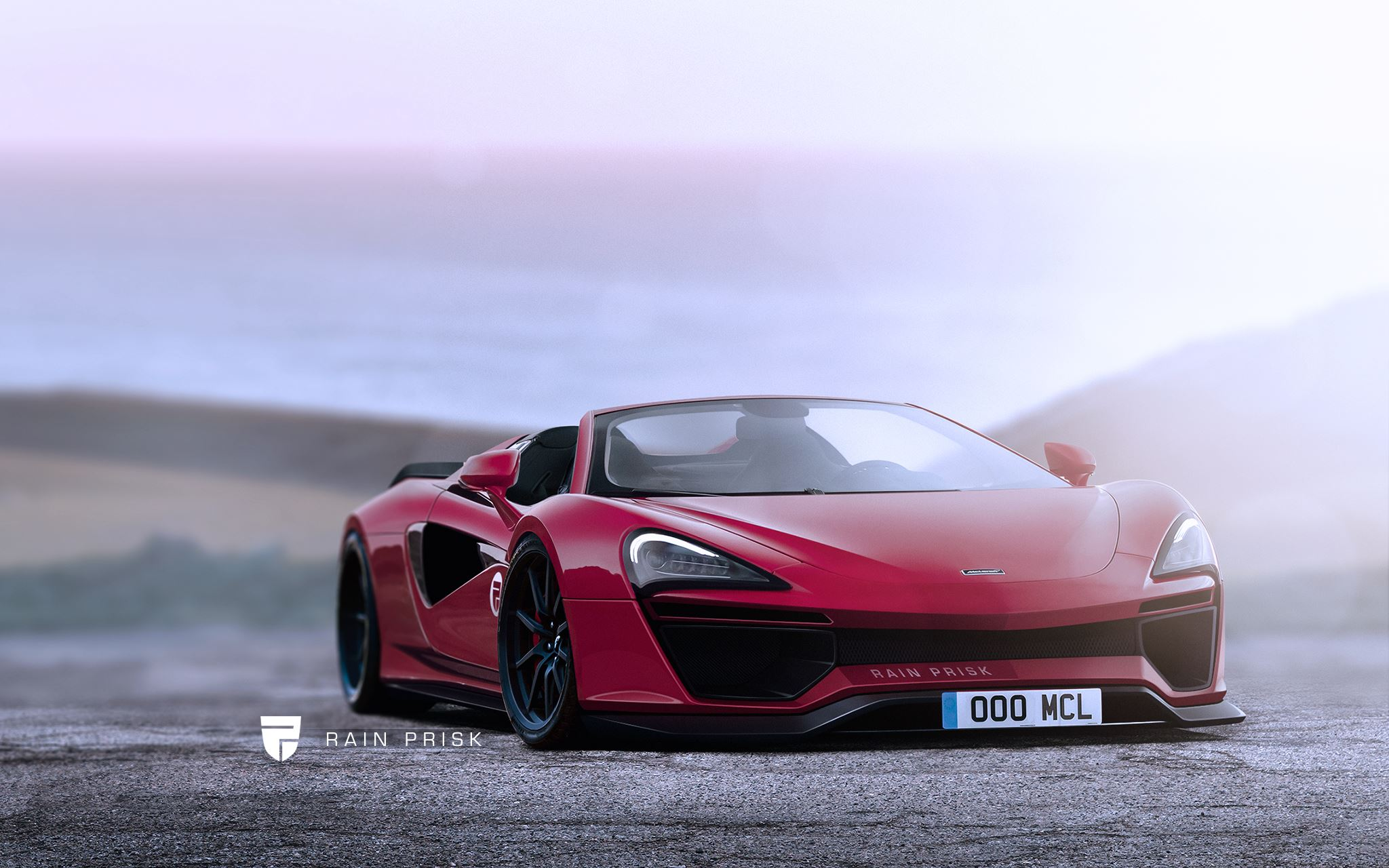 Widebody Mclaren 570s Spider Is Just A Rendering For Now