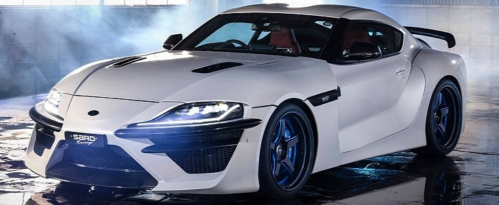 Widebody Toyota Supra by SARD Is the King of Quirky - autoevolution