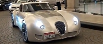 Wiesmann MF5 GT Hooning at Dubai Mall [Video]