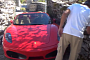 Will This Ferrari Fit Through a Narrow Greek Passage? [Video]