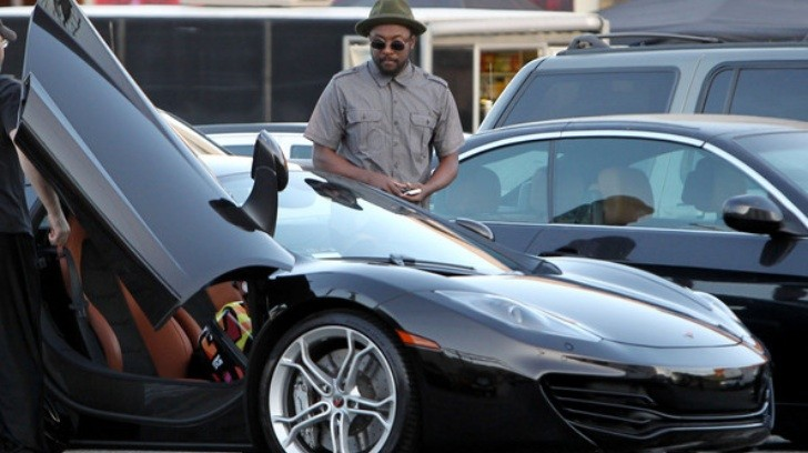 will.i.am Gets Himself a McLaren MP4-12C