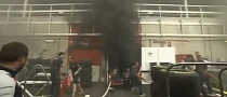 Williams F1 Team Garage Explodes after Spanish GP Win [Video]